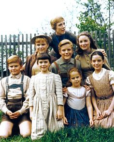 I want nothing more than to be a von Trapp. My God, I love this movie, and this movie family.