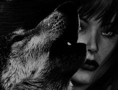 wild wolf woman