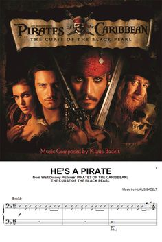 "Learn to play ""He's a Pirate"" from ""Pirates of the Caribbean: The Curse of the Black Pearl"""