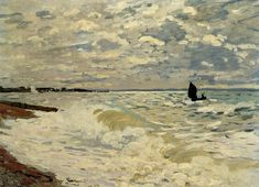 The Sea at Saint-Adresse 1868 | Claude Monet | Oil Painting #impressionism