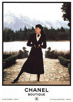 Ines de la Fressange for Chanel, 1980s