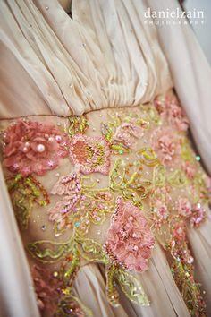 Love the embellishments. A Malaysian Wedding from Daniel Zain Photography.