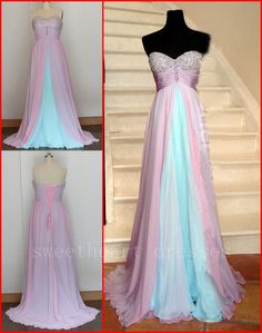 Formal Chiffon Long Prom Dress Ball Gown Cocktail Party Evening Dresseses