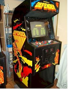 My favorite arcade game when I was a kid.spent plenty of spare change on it. Vintage Video Games, Classic Video Games, Retro Video Games, Retro Games, Vintage Games, Vintage Toys, Retro Arcade, Mini Arcade, Rush Games