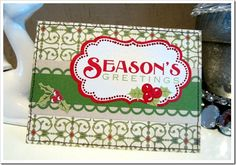 Day #19...  this great card was created by Kristin Kingrey using the November 2011 Hip Kit.  Enjoy!!!