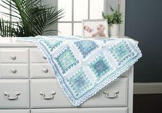 Block Upon Block Baby Blanket