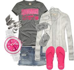 """""""Hollister GIrl"""" by tretre723 on Polyvore"""