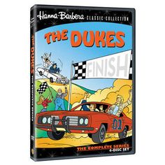 In this fondly remembered animated series produced by Hanna-Barbera Studios, Bo, Luke and Daisy Duke take their high-wheelin' country cruisin' around the world in a race against Boss Hogg for the family farm. No joshin' – the Dukes speed through France, Italy, Austria, Greece, England – you name it, the General Lee made tracks there! En route, Boss Hogg pulls the nastiest tricks ever, like blinding the boys with a fog machine, having them kidnapped and tricking them into a jewel heist. Why…