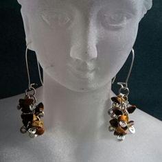 "I just added this to my closet on Poshmark: Tiger eye dangled. Price: $15 Size: 2""look for Heidi's closet! homemade jewelry shop poshmark  poshmark.com/closet/heidisjewelry"
