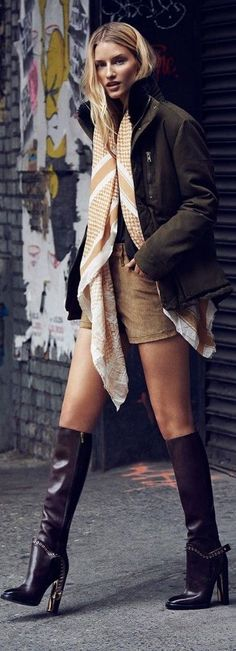 High Heels Long Boots For Fall Chic !