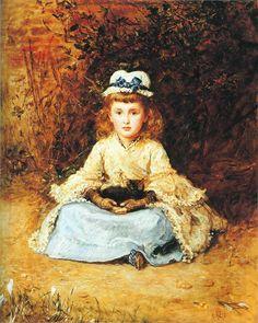 Early Days (1873)  Sir John Everett Millais
