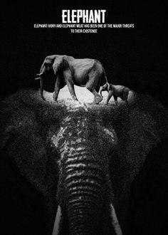 ELEPHANT STIPPLE EFFECTRec