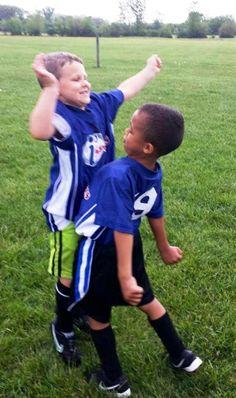 Now that s team spirit!  i9Sports  soccer Flag Football a4f832a74