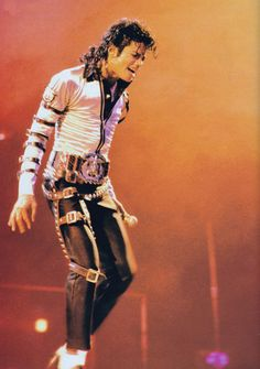 Michael Jackson - HQ Scan - Bad Tour - マイケル・ジャクソン 写真