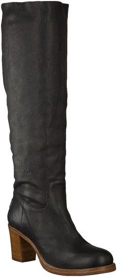 Zwarte Shabbies laarzen 108040