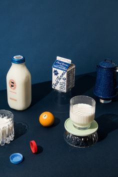 Is Milk Bad For You I Launched A Personal Investigation - Determined To Find Out Once And For All How Bad Milk Really Is I Recruited Myself To Join The Boston Globes Spotlight Team And Conducted An Intricate Investigation That Required Months Of Und Object Photography, Still Life Photography, Vintage Photography, Food Photography, Photography Camera, Food Design, Design Art, Bright Art, Bright Colors