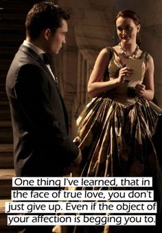 Favorite TV couple of all time, Blair and Chuck <3