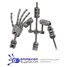 ProPlus Armature Kit - A studio quality stop motion armature from Animation Supplies