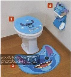 Decorate your bathroom with Stitch toilet accessories. Decorate your bathroom with Stitch toilet accessories. Lilo Stitch, Stitch Disney, Lilo And Stitch Quotes, Cute Stitch, Stitch Doll, Disney Rooms, Disney Cars, Cute Disney, Lelo And Stich