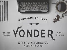 I've been working very hard on a bunch of new products for creative market.  It's taken a while, but I have 5 new products set to release over the next 5 weeks.  Yonder is my first and one of my fa...