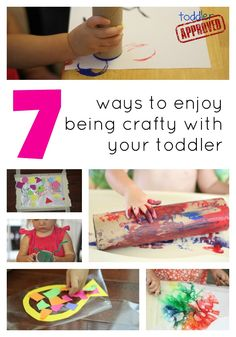 Toddler Approved!: 7 Ways to Enjoy Being Crafty With Your Toddler. What else would you add to this list?