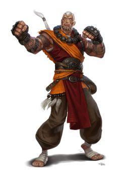 monk warrior+hit