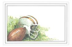 Helmet Football Party Invitation from Odd Balls