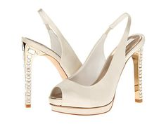 BCBGMAXAZRIA Ramsey White Satin - Zappos.com Free Shipping BOTH Ways