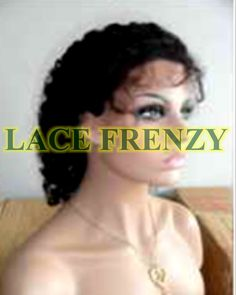 Kelsey - Kinky Curly Lace Front   #1, #1b
