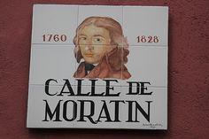 Calle de Moratín. Barrio de las Letras (Madrid) 24-11-2012