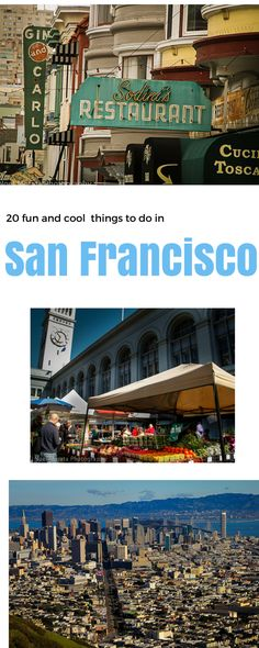 Top 20 fun and cool places to visit in San Francisco outside of the typical tourist attractions. Uncovers trendy areas, interesting food venues and cool hangout spots in San Francisco http://travelphotodiscovery.com/20-quirky-fun-and-trendy-places-to-explore-in-san-francisco/