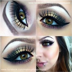 Golden Goddess http://www.makeupbee.com/look.php?look_id=67693