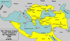 in 1453 Ottoman Turks conquered Constantinople. During the 16th and 17th centuries the Ottoman Turks were one of the most powerful states in the world. It stretched from the southern borders of the Holy Roman Empire to Vienna, Royal Hungary and Polishlithuanian Commonwealth in north Yemen and Eritrea.