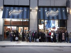 Garrett Popcorn Shops at 625 North Michigan Avenue - i have waited in this line for almost an hour - not sure i can convince the kids to tho! ;)