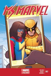 Ms Marvel & Wolverine by Jamie McKelvie Your typical teenage girl and her selfies. Captain Marvel, Captain America, Marvel Wolverine, Marvel Now, Marvel Dc Comics, Comic Book Covers, Comic Books Art, Comic Art, Univers Marvel
