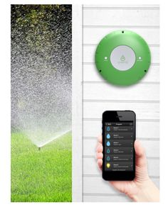 The #Smart #Garden #CES2015: The Smart Garden Hub from @GreenIQ, which retails for $249, offers a solution to intuitive irrigation. The Hub connects to the internet to collect information about past, present and forecasted weather from the nearest weather station and controls your sprinkler system based on the weather. #technology #conservation #homeautomation
