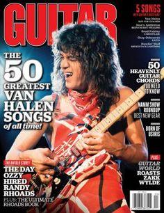Eddie Van Halen Guitar World cover.