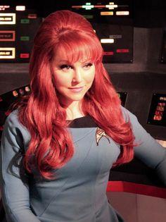 Michele Specht as Dr. Star Trek Cosplay, Hot Actors, Actors & Actresses, Star Trek Kostüm, Star Trek Continues, Star Trek Posters, Star Trek Images, Star Trek Characters, Science Fiction