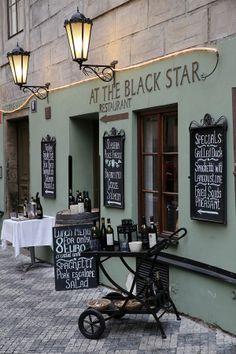 Black Star restaurant in Praha #Prague #Czechia #restaurant