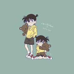 Conan Comics, Gosho Aoyama, Kudo Shinichi, Iphone Wallpaper Tumblr Aesthetic, Arthur Conan Doyle, Magic Kaito, Case Closed, Art Drawings Sketches Simple, Childhood Friends