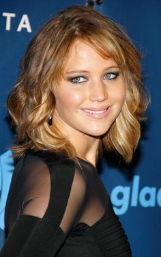 Jennifer Lawrence - celebrity hairstyles