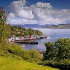 Overlooking Tobermory, Isle of Mull