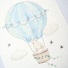 Baby ilustration bear clip art 37 ideas for 2019 Baby Illustration, Watercolor Illustration, Baby Painting, Bunny Art, Watercolor Animals, Blue Art, Nursery Prints, Cute Drawings, Art For Kids