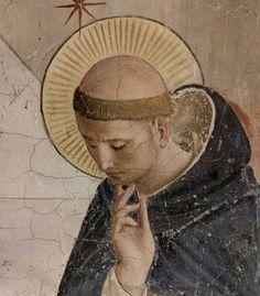 BEATO ANGELICO - Cristo deriso (particolare) - 1438-1440 - cella n. 7 - Convento-Museo N. di San Marco, Firenze