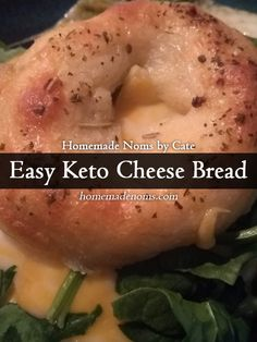 """Did you know that you can create low carb """"bread"""" out of just 2-3 ingredients? Most people in the low carb community call it fathead dough*, but there are thousands of variations out there. All of them have the same base: cheese."""