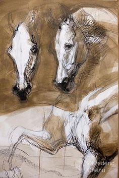jean louis sauvat | Chevalmag - Jean-Louis Sauvat : Variations équines