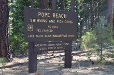 Pope Beach Lake Tahoe