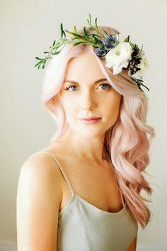 flower crown. the babushka ballerina