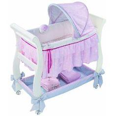 Summer Infant Carter's Classic Comfort Wood Bassinet, (bassinet, baby gear, baby, bassinets, portable bassinet, sleep, baby nursery, co-sleeping, colic relief, congestion relief)