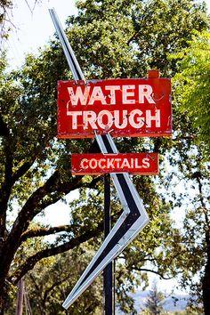 Water Trough...Mendocino, California